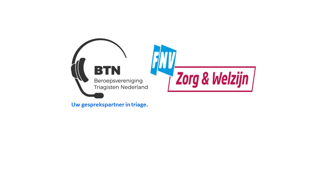 Gezamenlijke bijeenkomst van de BTN en de FNV voor triagisten